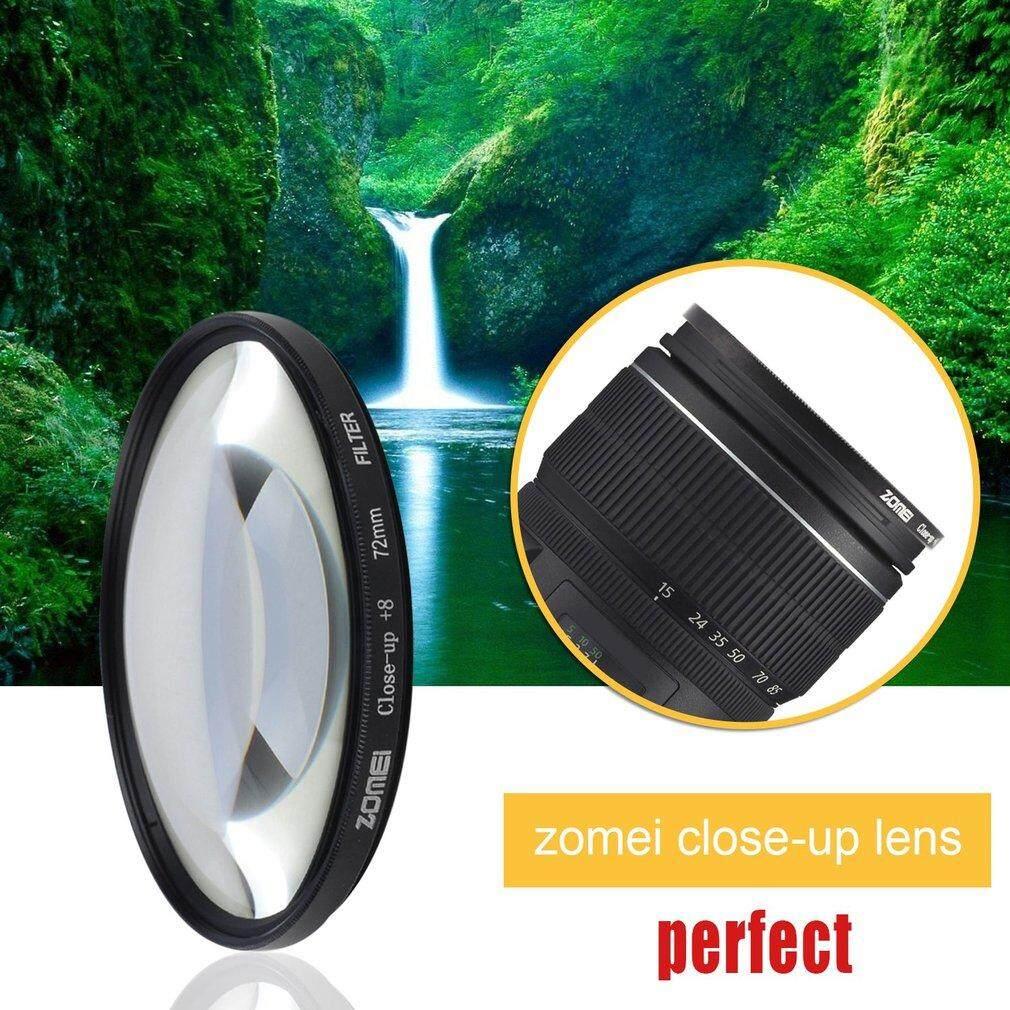 Zomei Penyaring Bentuk Lingkaran Makro Close Up Filter + 8 untuk Sony untuk Nikon untuk Canon Makro Filter Lensa 72 Mm-Intl