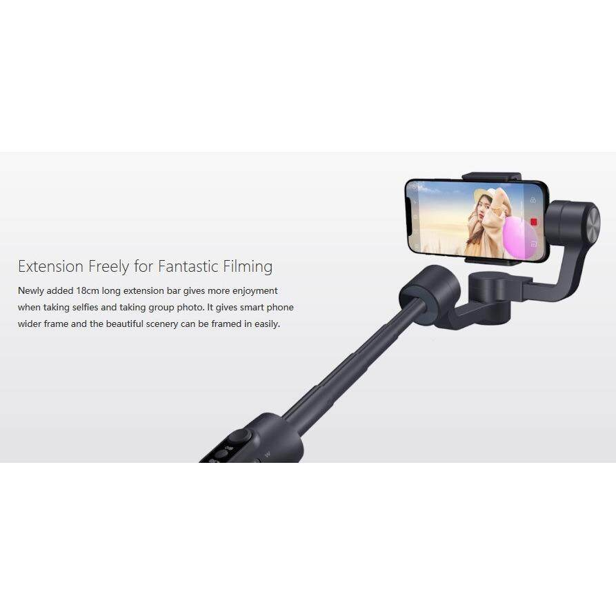 Features Feiyu Vimble 2 3 Axis Brushless Handheld Steady Gimbal Spg For Smartphones Extension Rod 4 55