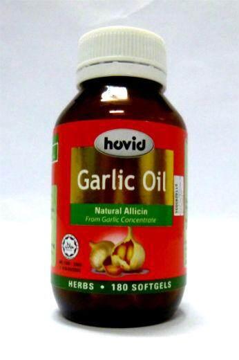 Hovid Garlic Oil 6mg 180s