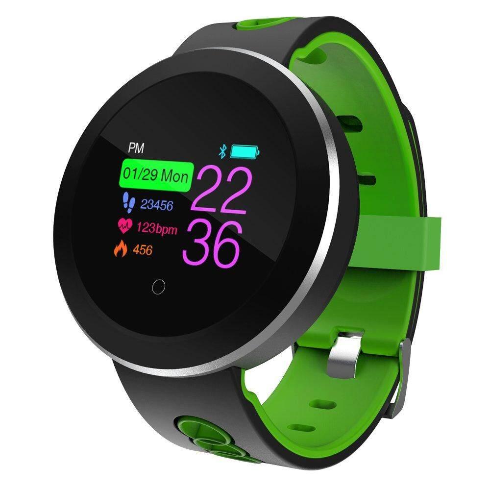 Q8 Pro Gelang Tekanan Darah Darah Oksigen Monitor Pintar Jam Denyut Jantung Pintar Tali Bluetooth Tahan Air Kebugaran Pelacak Gelang untuk android dan IOS Telepon-Internasional