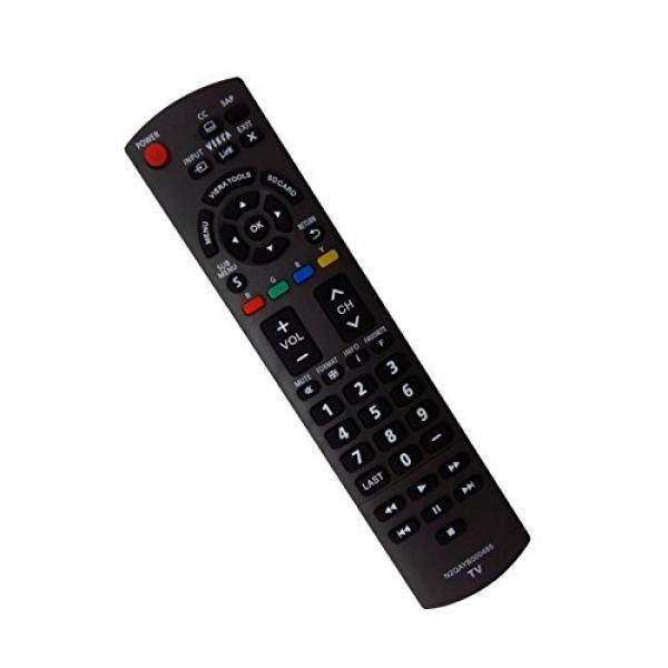 Econtrolly Diganti N2QAYB000485 Pengendali Jarak Jauh untuk Panasonic LCD Plasma TV TC-32LX24 TC-42LD24 TC-42LS24 TC-42PX24 TC-50PS24 TC-50PX24 TC-L22X2 TC-L32C22 TC-L32U22 TC-P58S2 TC-P65S2 TC-42PX34 -Intl