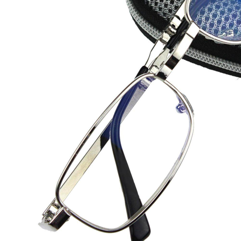 Portabel Perak Lipat Membaca Kacamata (Gelar: 300)-Internasional
