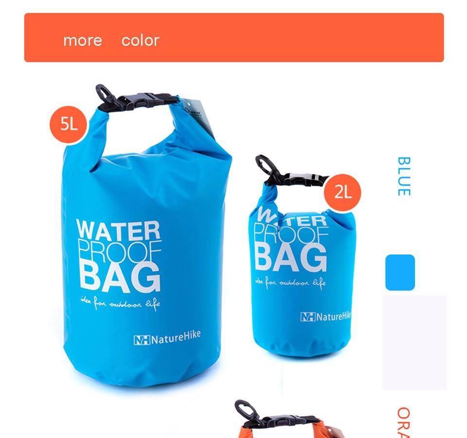 HLB Naturehike Outdoor Portable Arung Jeram Kantung Tas Anti-air Kolam Tas Penyimpanan Tahan Air