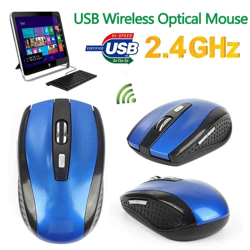 Daftar Harga Jual Mouse Wireless Terbaik Terbaru Murah Bulan Oktober Slec Nc19 Silent Click Original Jayoyi 24 Ghz Nirkabel Penawaran Internasional