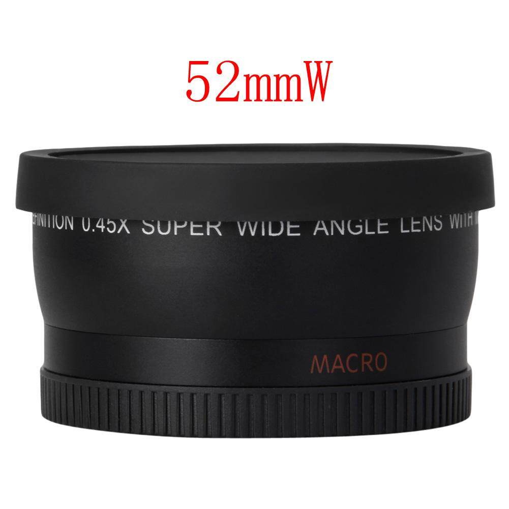 ... 0.45x 52mm Super Wide Angle Macro Lens for Nikon 18-55mm 55-200mm ...