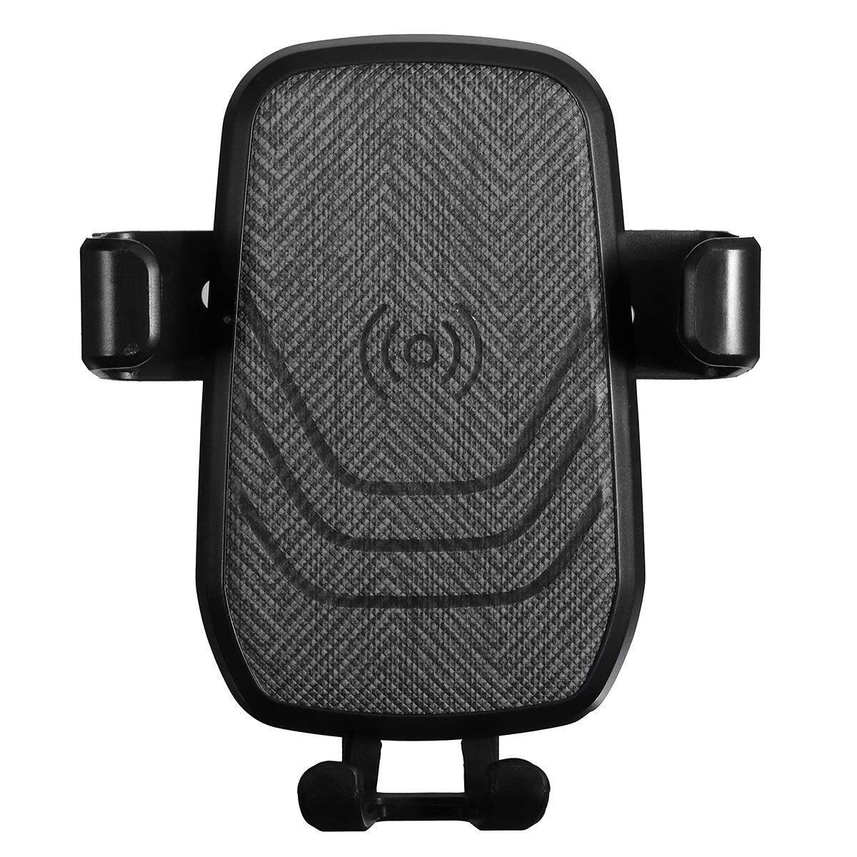 Gravity Qi Charger Car Wireless Air Vent Holder Mount For Iphone X 8 Samsung S9 Intl Review