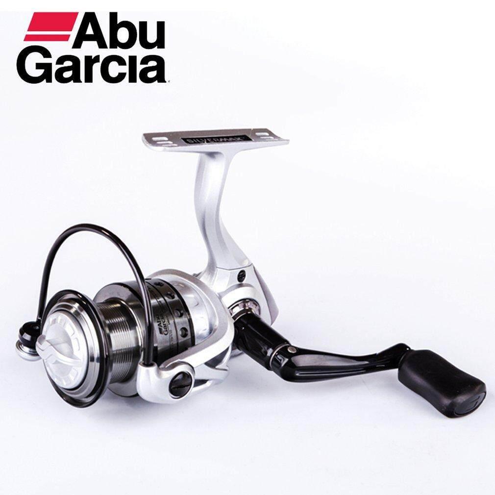 Makeac Abu Garcia Smaxsp 500 Berputar Reel Pancing 5 + 1BB Air Laut Reel Putih & Perak-Intl