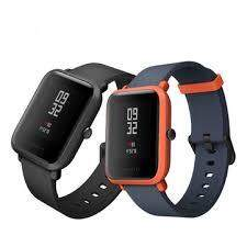 "[International Verision] XIAOMI Mi Fit Huami Amazfit BIP Smartwatch Band 1.28"" LCD 2.5D Corning Gorilla Glass 3, Fitness Tracker, Bluetooth, GPS + GLONASS, Heart Rate, Barometer, Waterproof IP68, PPG, Smart Watch"