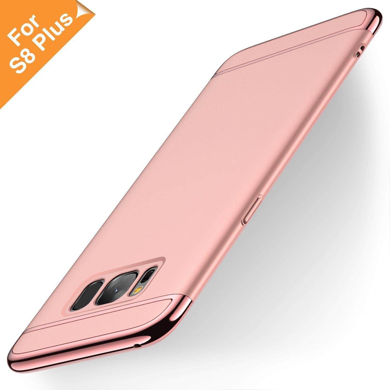 Untuk Samsung Galaxy S8 Plus Case, 3 In 1 Mewah Emas Wadah Penutup Belakang Cakupan Yang Dapat Dilepas Sarung Telepon Genggam