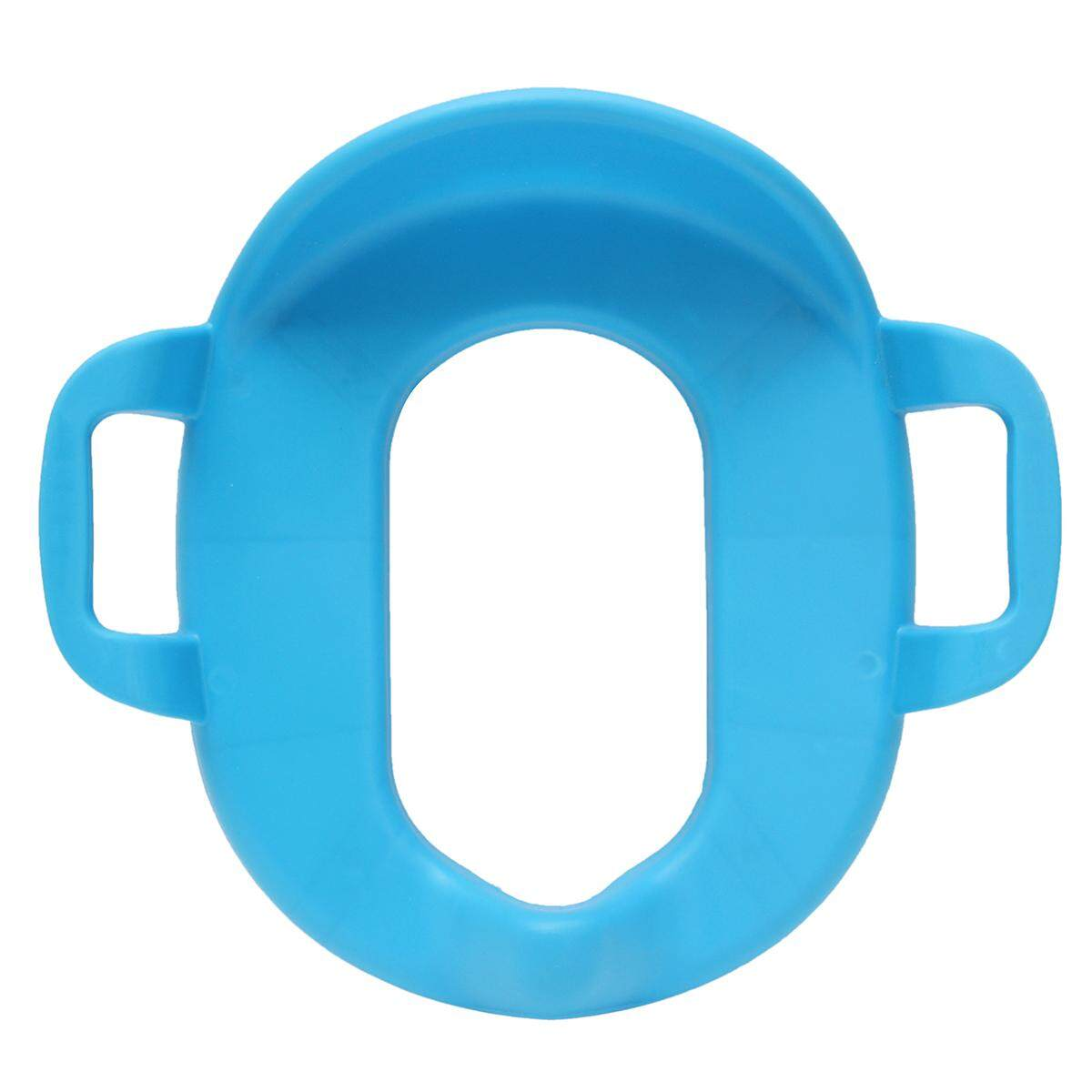 Children Potty Training Seat Kids Baby Toddler Handle Toilet Soft Pad Portable  Blue By Glimmer.