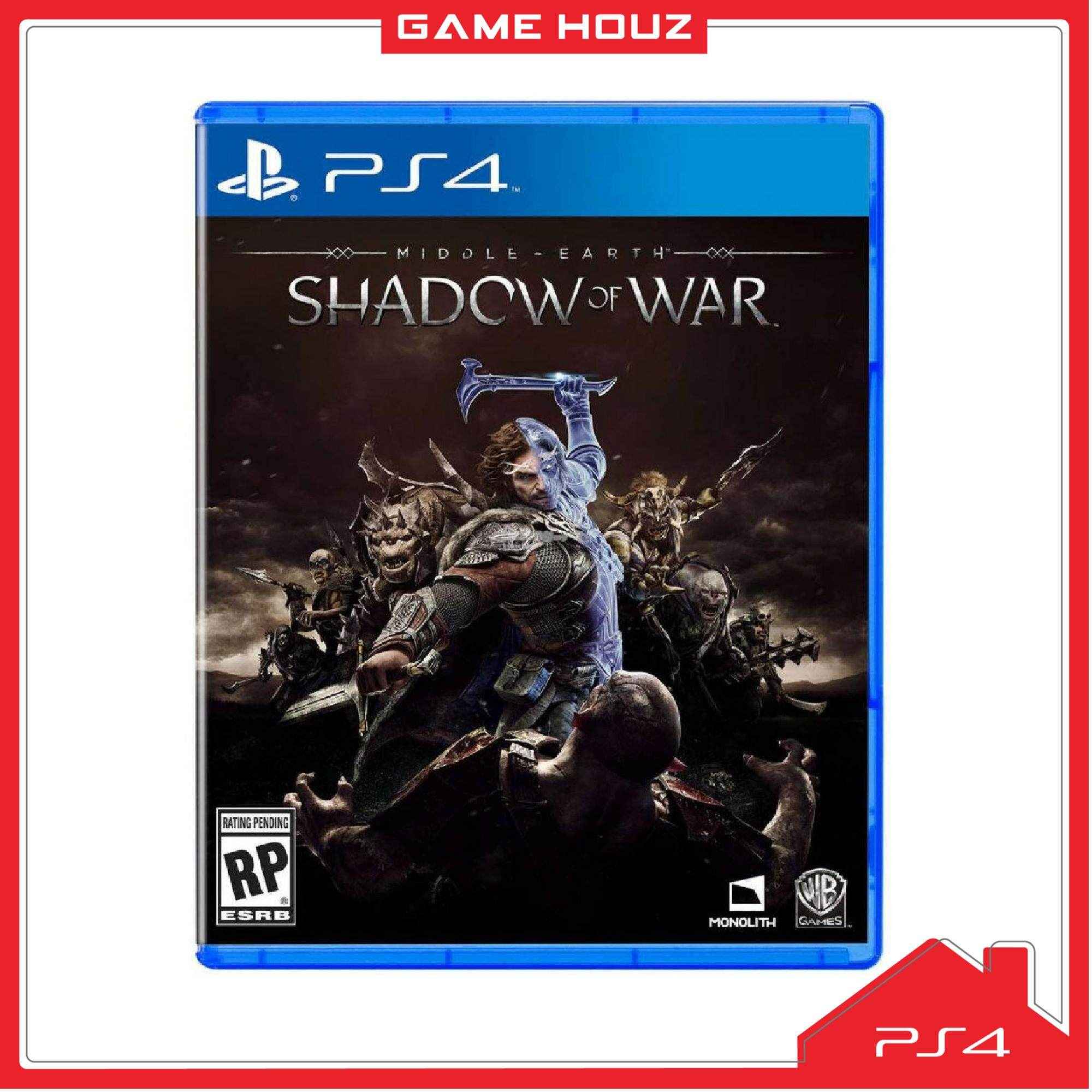 (PS4) Middle Earth: Shadow of War (R3/ENG/CHN)