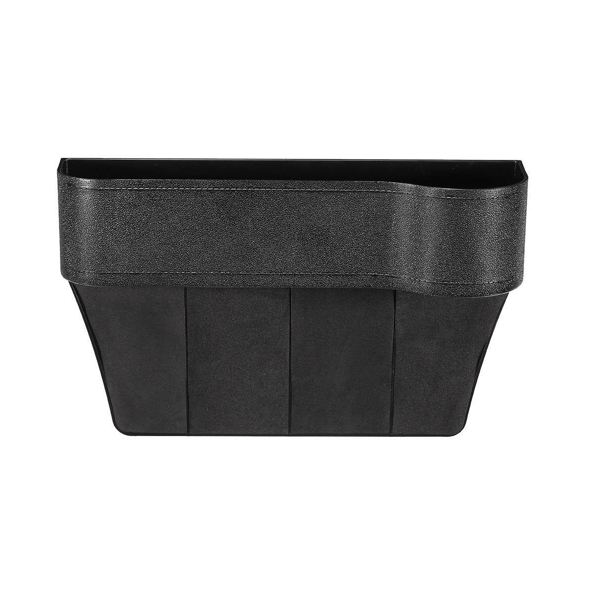 Car Seat Crevice Gap Catcher Storage Box Phone Cup Drink Holder Pocket Organizer .
