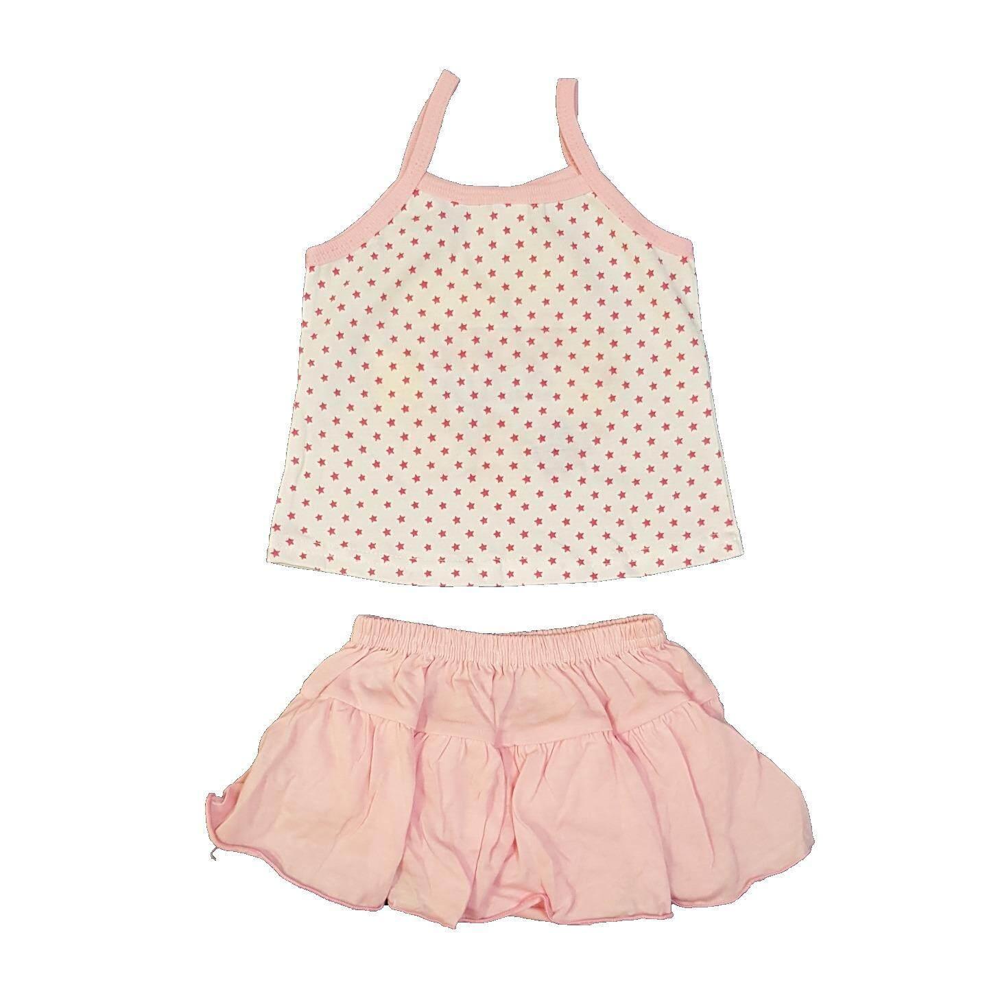 3 SET Summer Baby Girls Camisole Casual Wear 6-12Mth