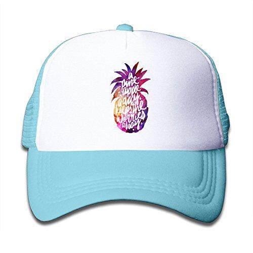 Satu Pineapple Sebuah Day Quote. Png Jaring Topi Bisbol Topi untuk Anak-anak-Internasional
