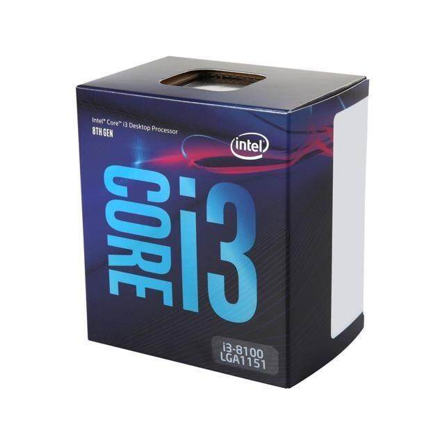 Intel Core i3-8100 LGA 1151 Processors