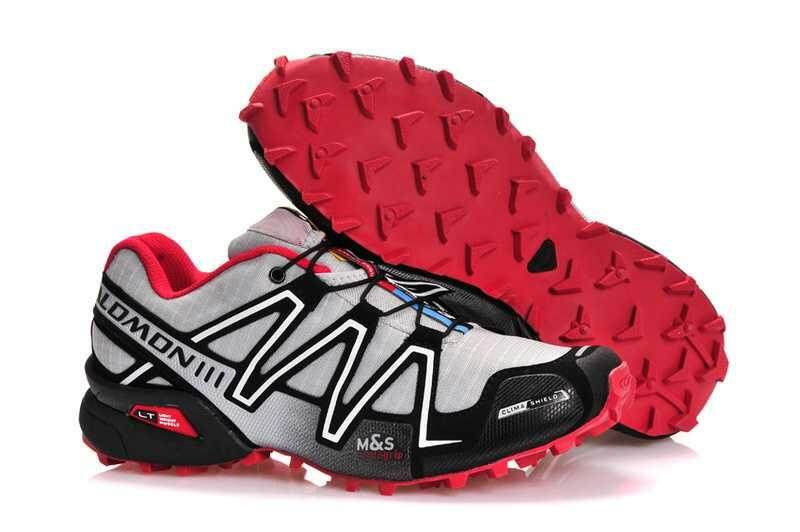 Original Salomon Men S Speedcross 3 Trail Running Shoe Speed Cross 3 Cs Hiking Shoes Fashion Outdoor Sneakers Breathable Speedcross Iii Cross Country Shoes Light Grey Peach Red Intl Reviews