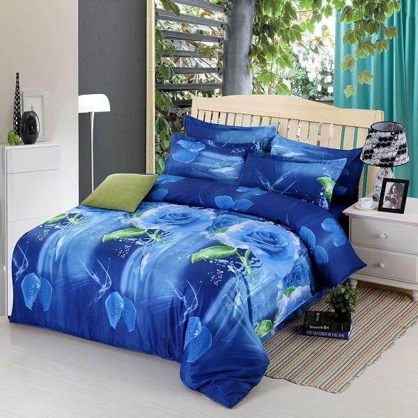 3d Four Sets Of Stereo-Active Printing Bedding Sets By Moonbeam.