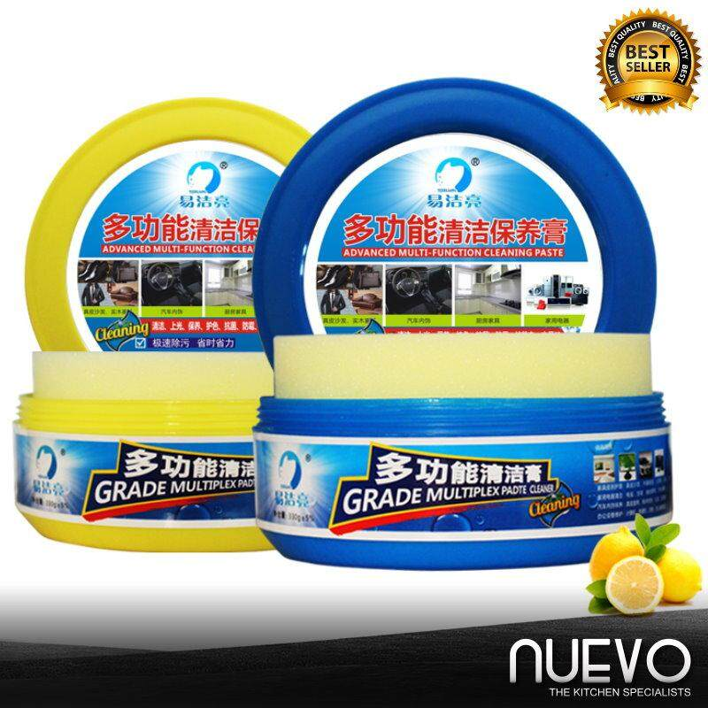 Nuevo 2pcs 330g Multi-function Gigh-Grade Leather Cleaning Pastes Car Interior-Cleaning Materials Cleaning Cream
