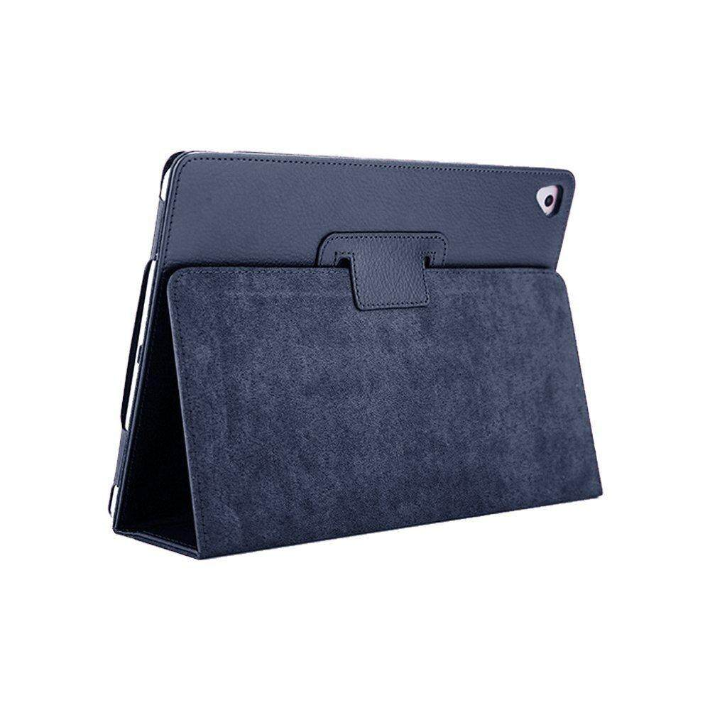 Low Price Bifold Series Litchi Stria Slim Thin Magnetic Pu Leather Smart Cover For Apple Ipad Air 2 9 7 Inch Intl