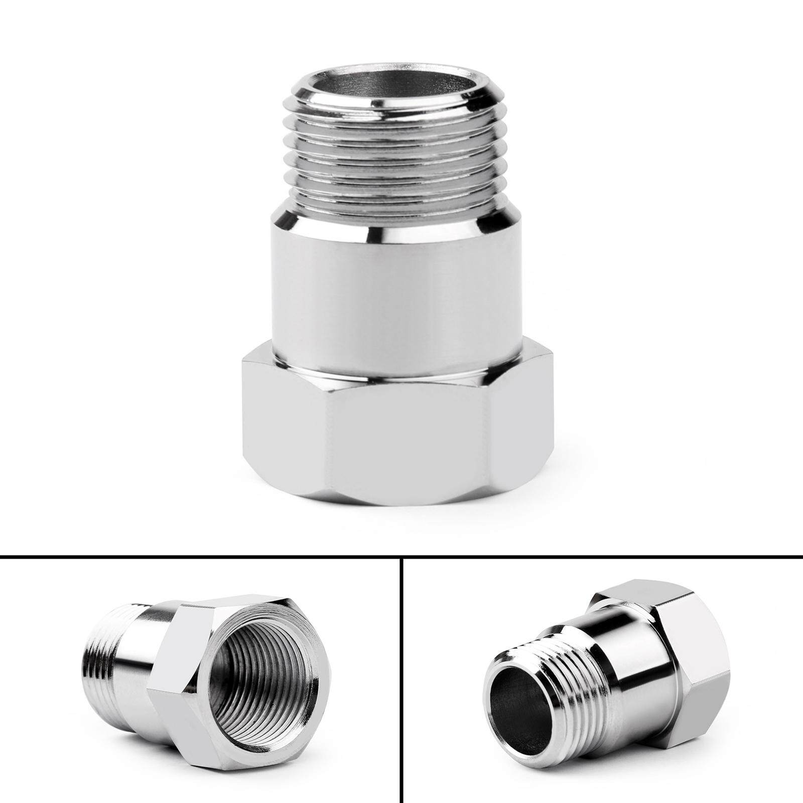 Areyourshop O2 Oxygen Sensor Test Pipe Extension Extender Adapter Spacer M18 X 1.5 Bung 32mm By Areyourshop.