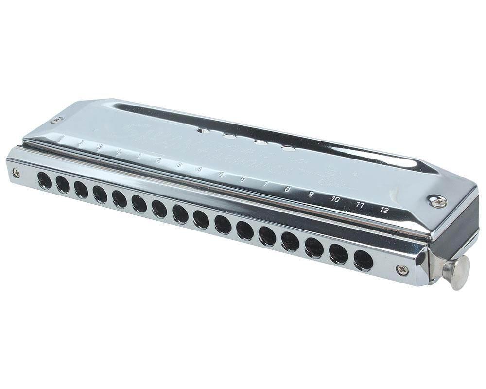Foorvof Kunci C 16 Lubang 64 Nada Berwarna Harpa Harmonika Organ Tiup Alat (Perak)-Intl