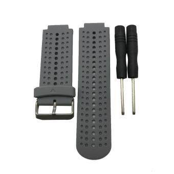 22mm Garmin Forerunner 220 230 235 620 630 735xt Soft Silicone Replacement Watch Band