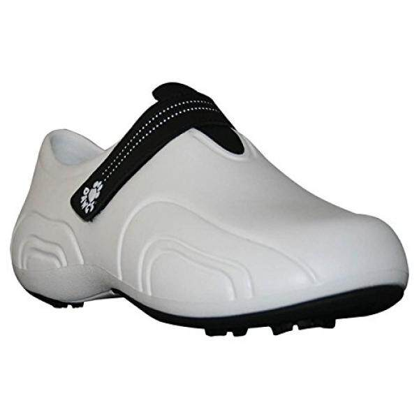 Dawgs Mens Ultralite Golf Shoes, White With Black, 17 By 15store.