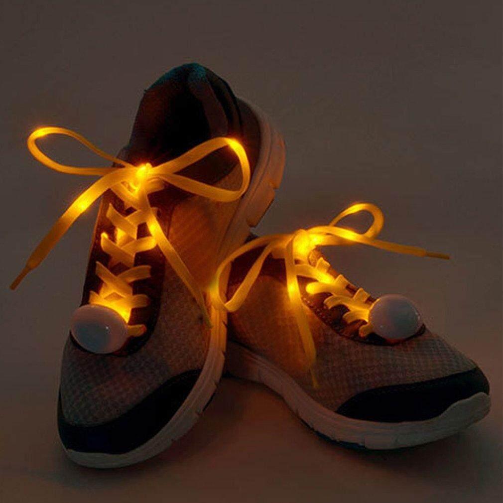 Uinn Nilon Terlaris Tali Sepatu Berkelip Flash Lampu LED Tali Sepatu Bercahaya String-Intl