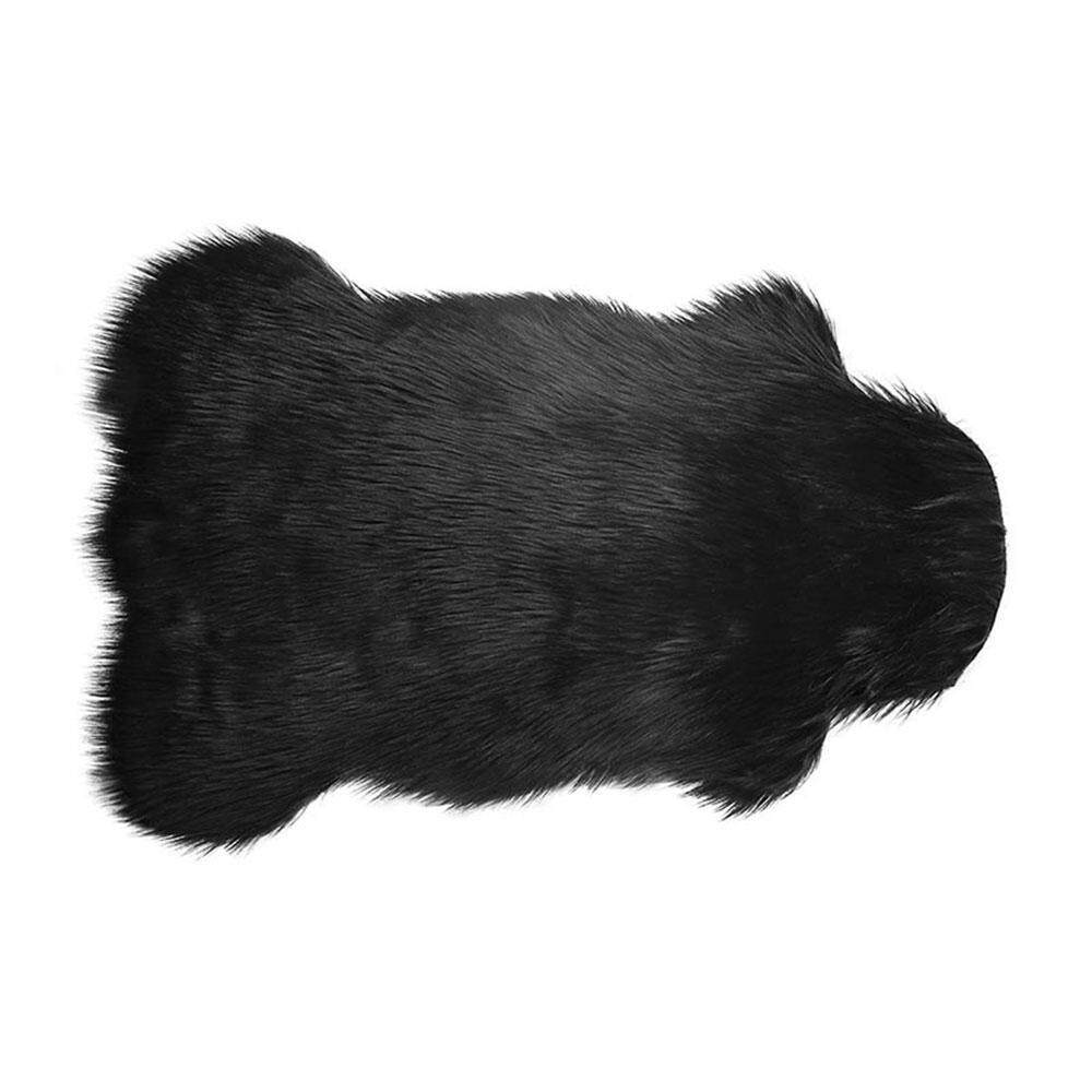 OUYAWEI Silky Faux Sheepskin Chair Cover/ Rug /Seat Pad/ Area Rugs Carpet For Bedroom Living Room