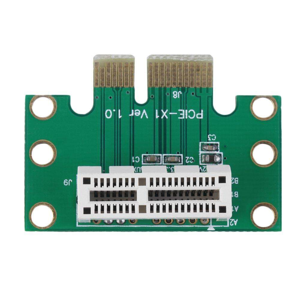 Yika New PCI-E PCI Express 1X Adapter Riser Card 90 Degree For 1U Server Chassis
