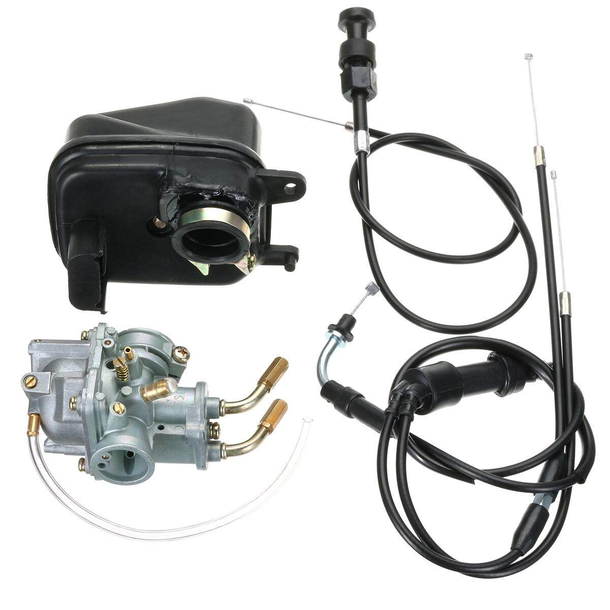 CARBY + AIR FILTER + Throttle + Choke Cable YAMAHA PEEWEE PW50 PY50 YZINGER BIKE