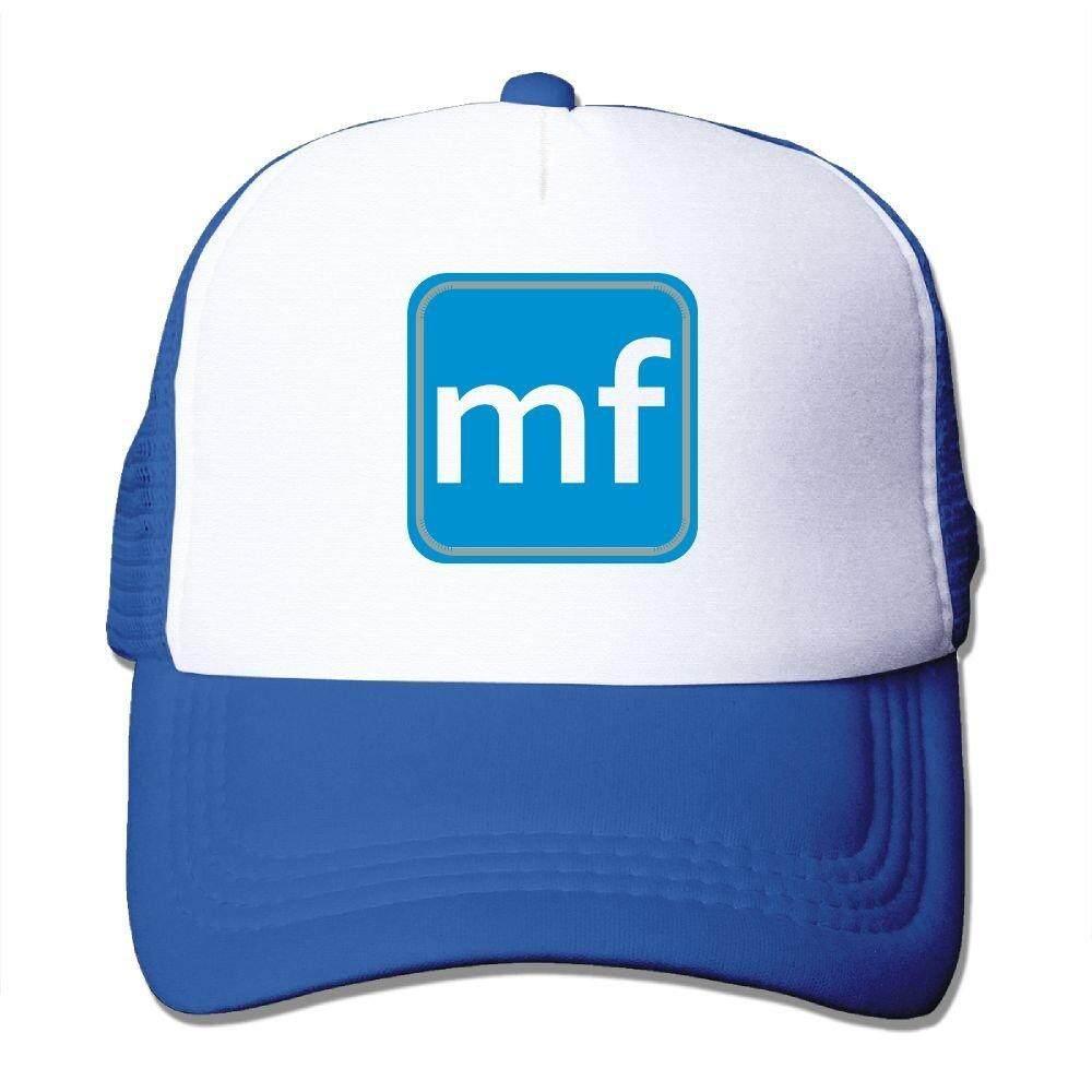 Nongfu MF Logo Facebook Spoof Besar Busa Jaring Truk Tutup Jaring Kembali Dapat Disesuaikan Tutup-Internasional