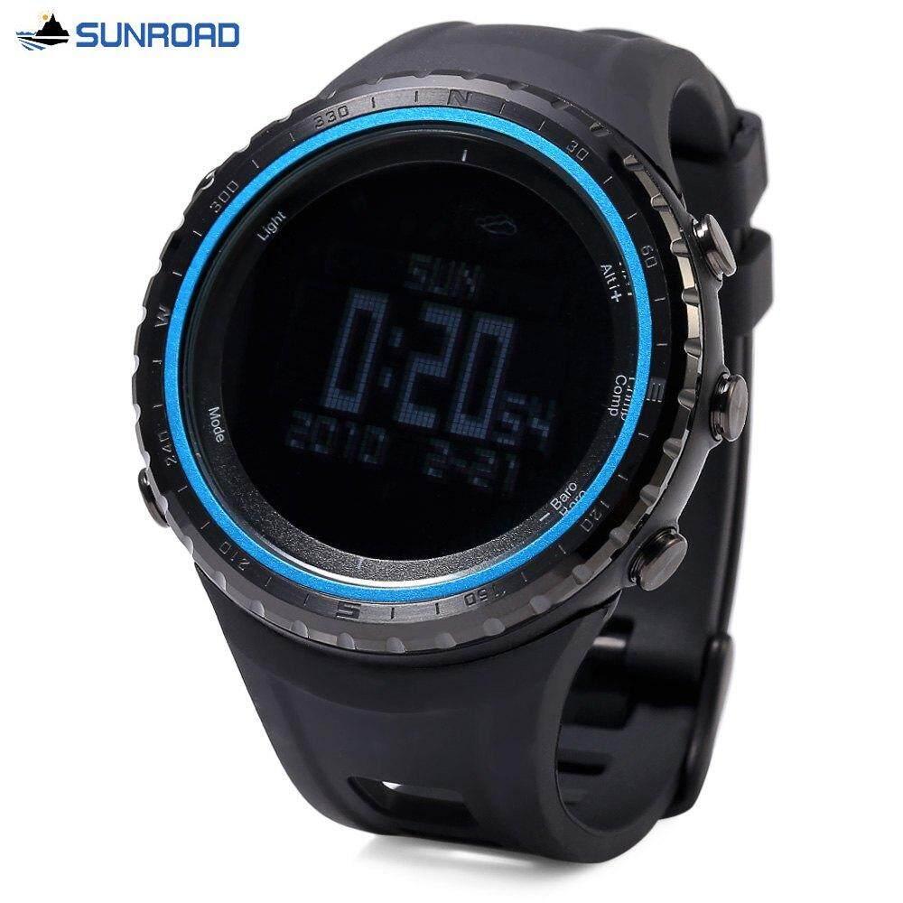 SUNROAD FR801B PROFESSIONAL HIKING DIGITAL SPORTS WATCH (BLUE)