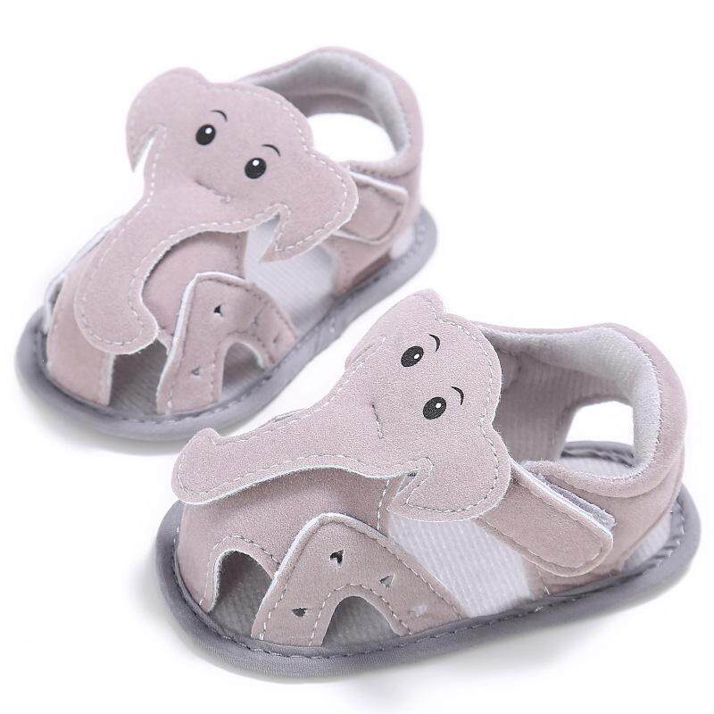 11292aac1bbb Ishowmall Cute Baby Boy Sandals Elephant Soft Sole Summer Shoes