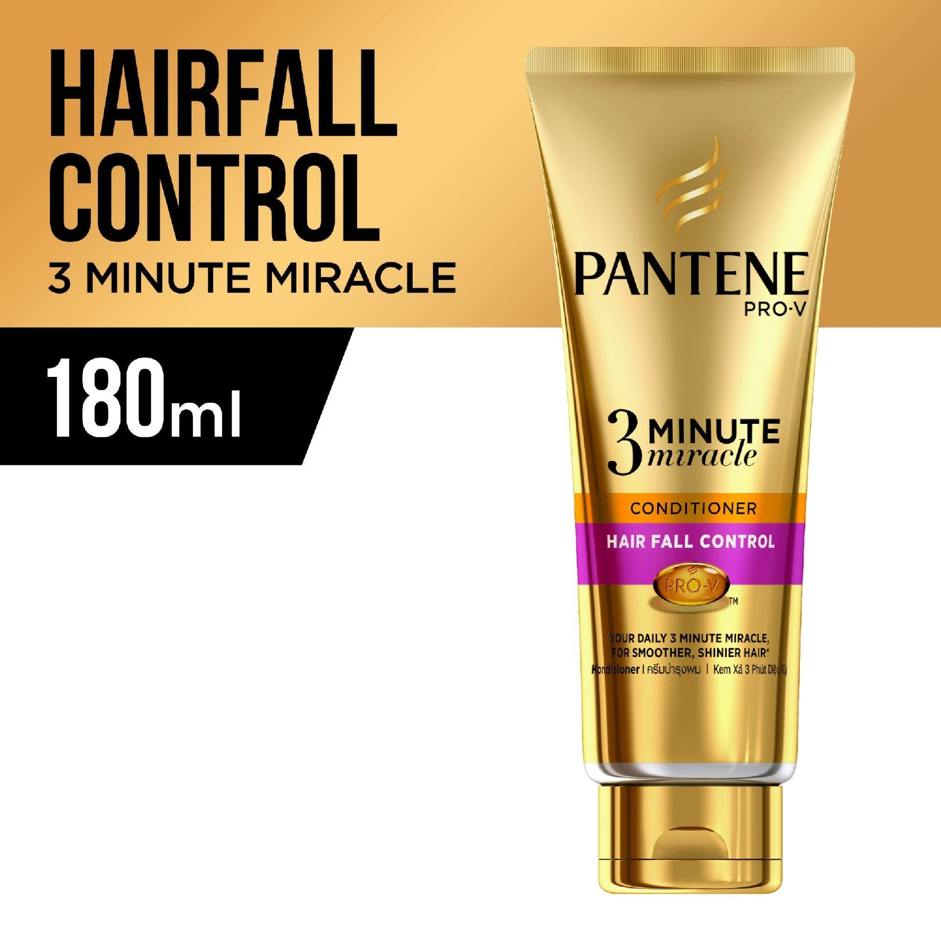 Pantene Pro-V 3 Minute Miracle Conditioner Hair Fall Control 180ml