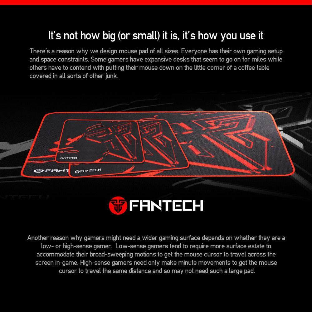 GENUINE FANTECH G10P WIRED PRO GAMING MOUSE + GAMING MOUSEPAD