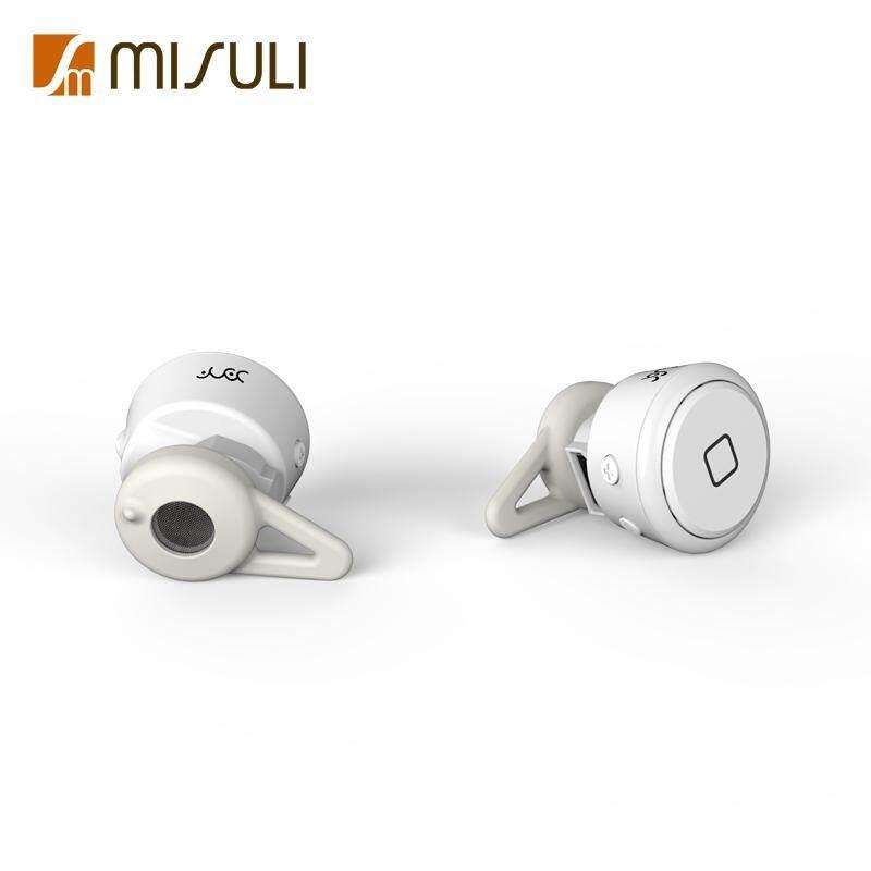 YE-106T Kontrol Suara Mendukung Musik Stereo Earbud Earphone Bluetooth Mini V4.1 Bebas