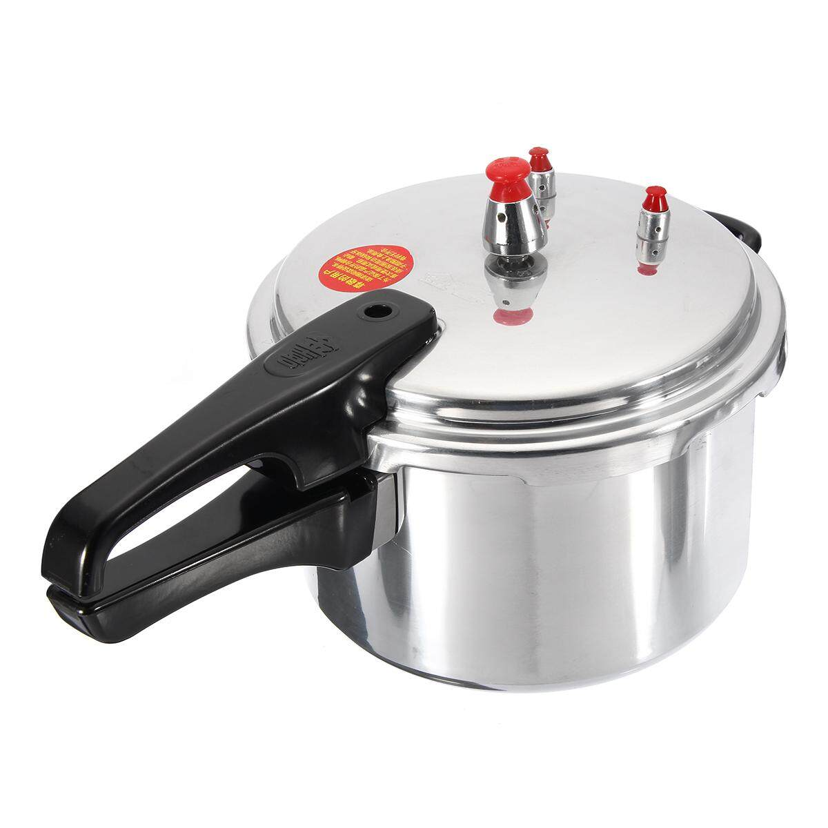 Aluminium Alloy Pressure Cooker Gas Stove Cooking Safety Energy-Saving Cooker 24cm - Intl By Freebang.