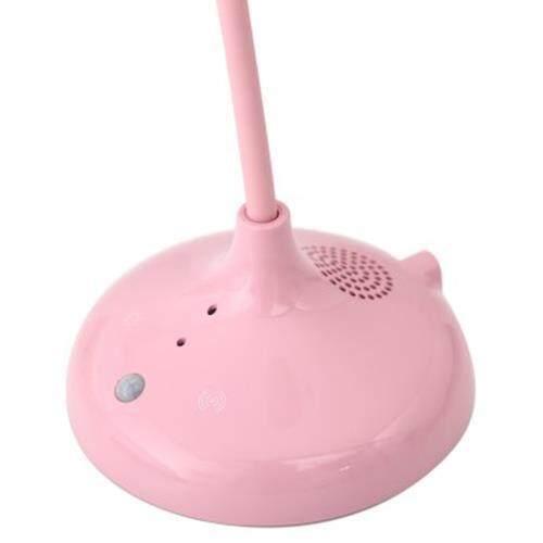 2 IN 1 BIRD INTELLIGENT DETECT MOTION SENSOR LIGHT SMART TOUCH EYES PROTECTIVE DESK LAMP (PINK)