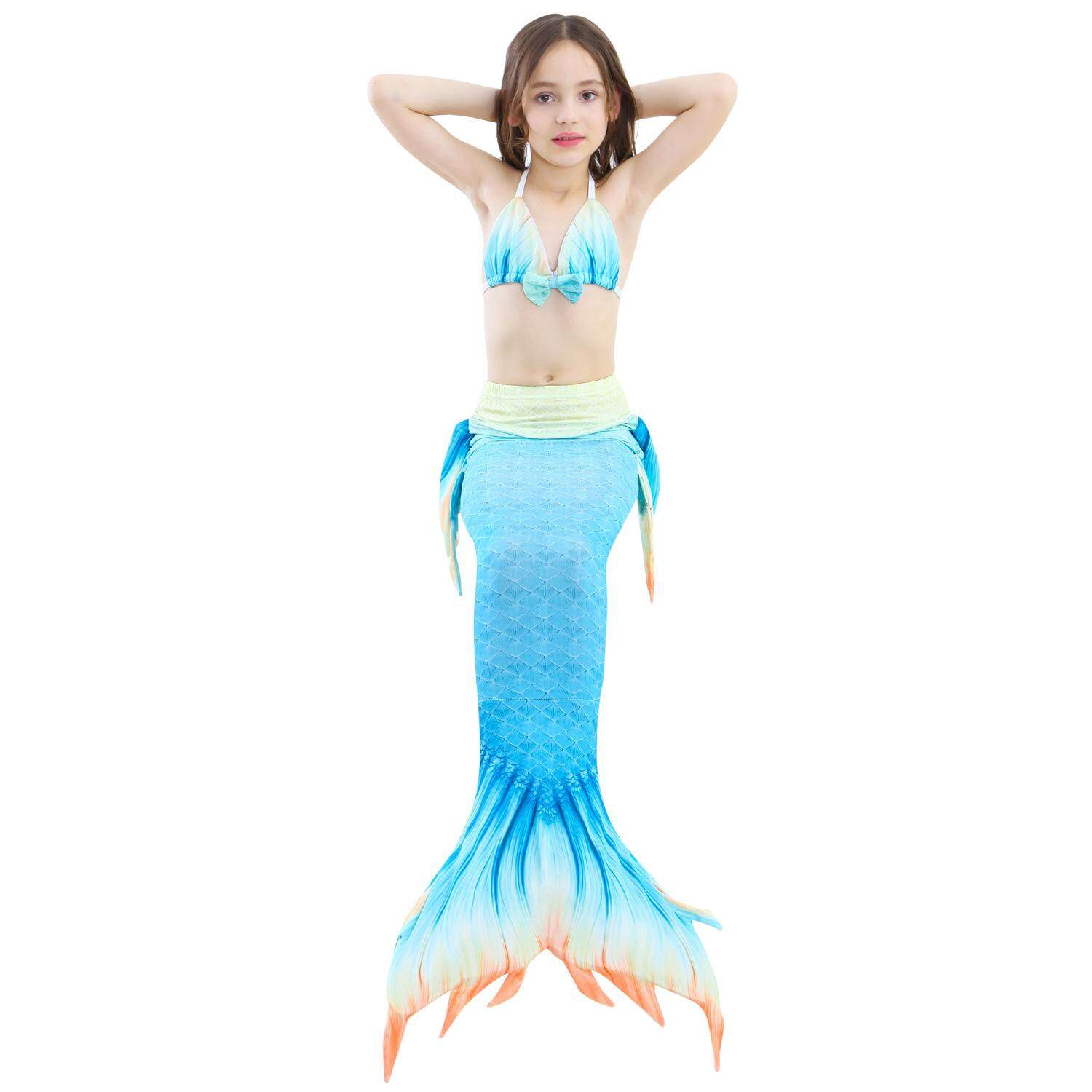 Fitur Dn Girls Summer Mermaid Tail Swimsuit Kids Girls Fancy