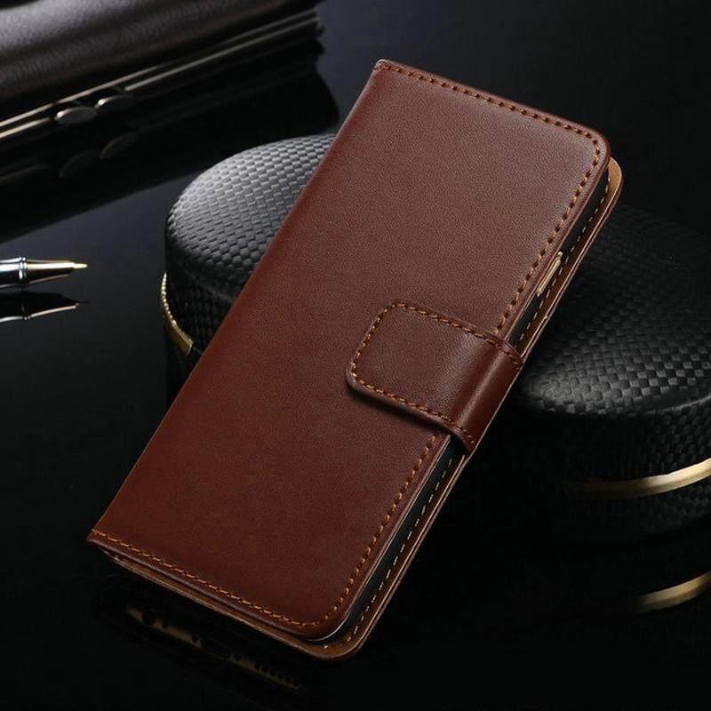 Lipat Dompet Case untuk Alcatel Satu Sentuh Perhatian C5 Kanvas Kulit PU Tas Telepon Sarung Case untuk Alcatel Satu Sentuh perhatian C5 dengan Slot Kartu Case-Internasional
