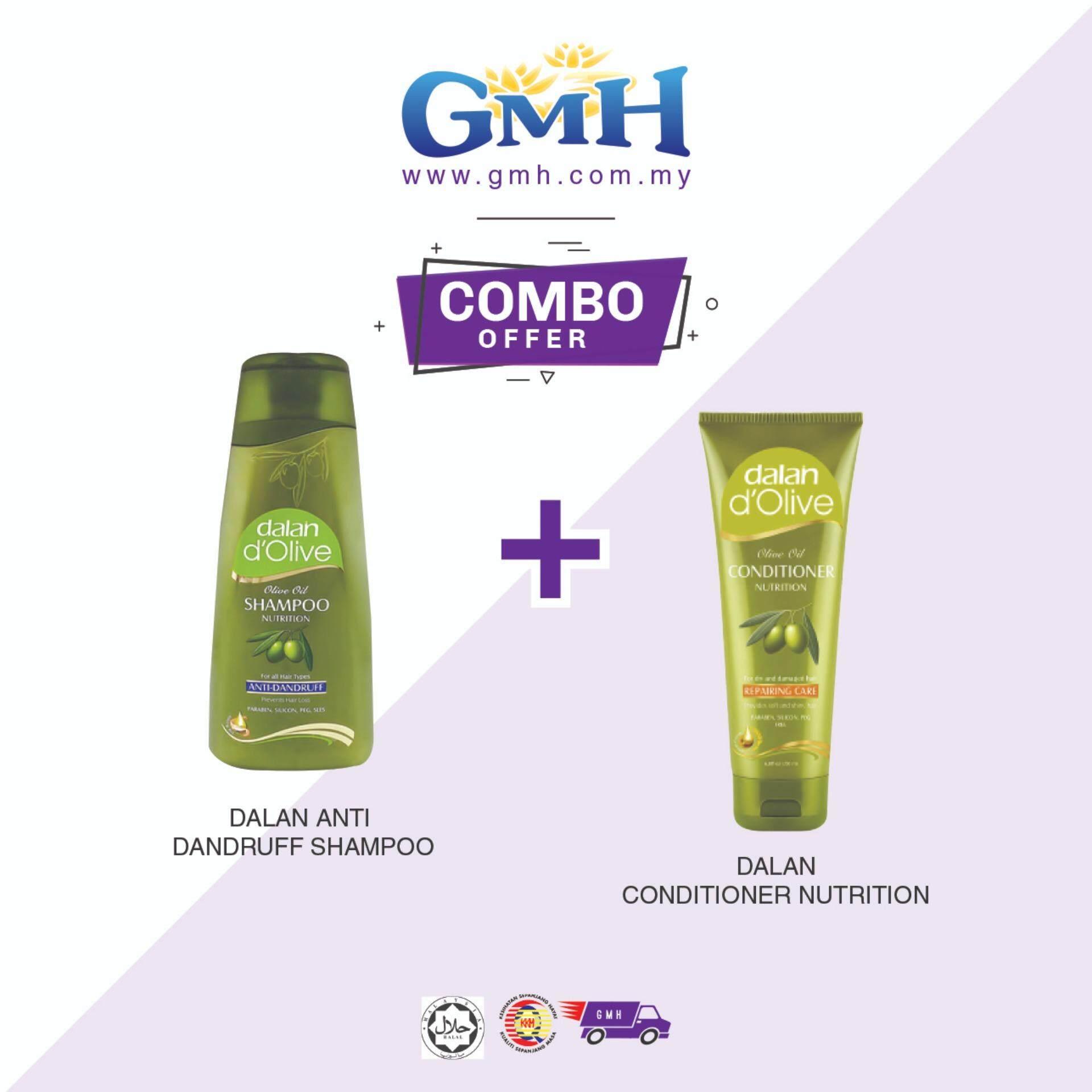 [COMBO] Dalan D Olive Anti Dandruff Shampoo + Dalan D Olive Conditioner