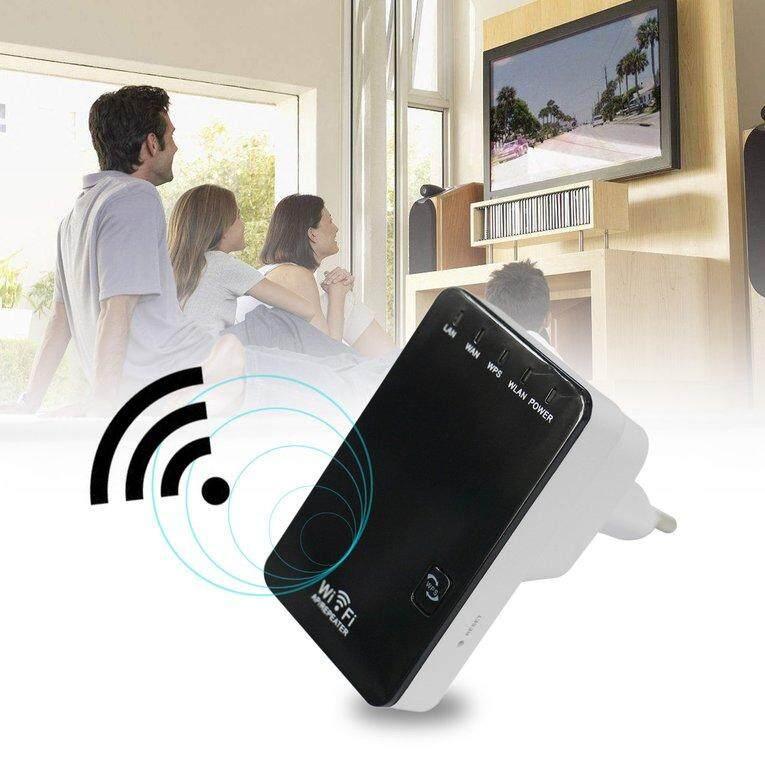 Hình ảnh TOMSOO 300 Mbps Repeater WiFi Ph?m Vi Kh?ng D?y M? R?ng T?ng ?p-qu?c t?