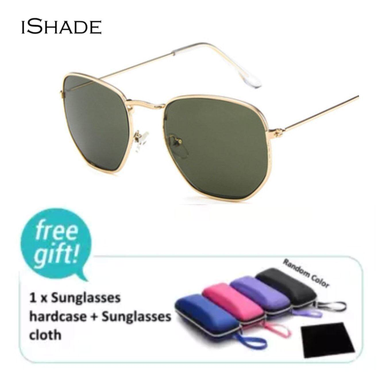 5080271f407 iShade Retro Fashion Metal Frame Sunglasses For Men And Women