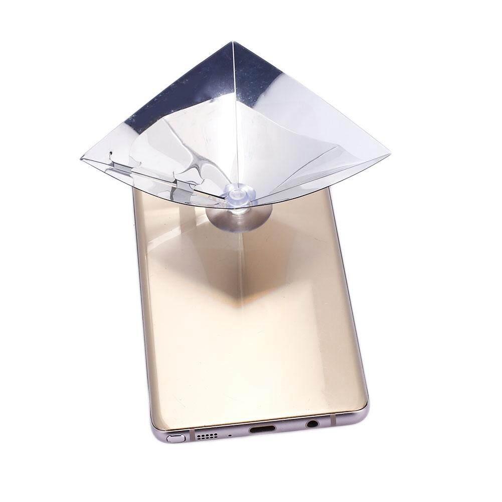 Hình ảnh Toàn phương Màn Hình Chiếu 3D Chiếu Bộ Phim ABS Cao Cấp Trong Suốt dành cho 3.5-6 inch Điện Thoại Shop-quốc tế