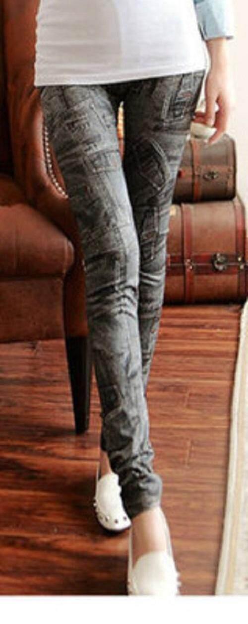 (Pre Order 14 DAYS) JYS Women Fashion Legging 114-767-B (Black) ONE SIZE