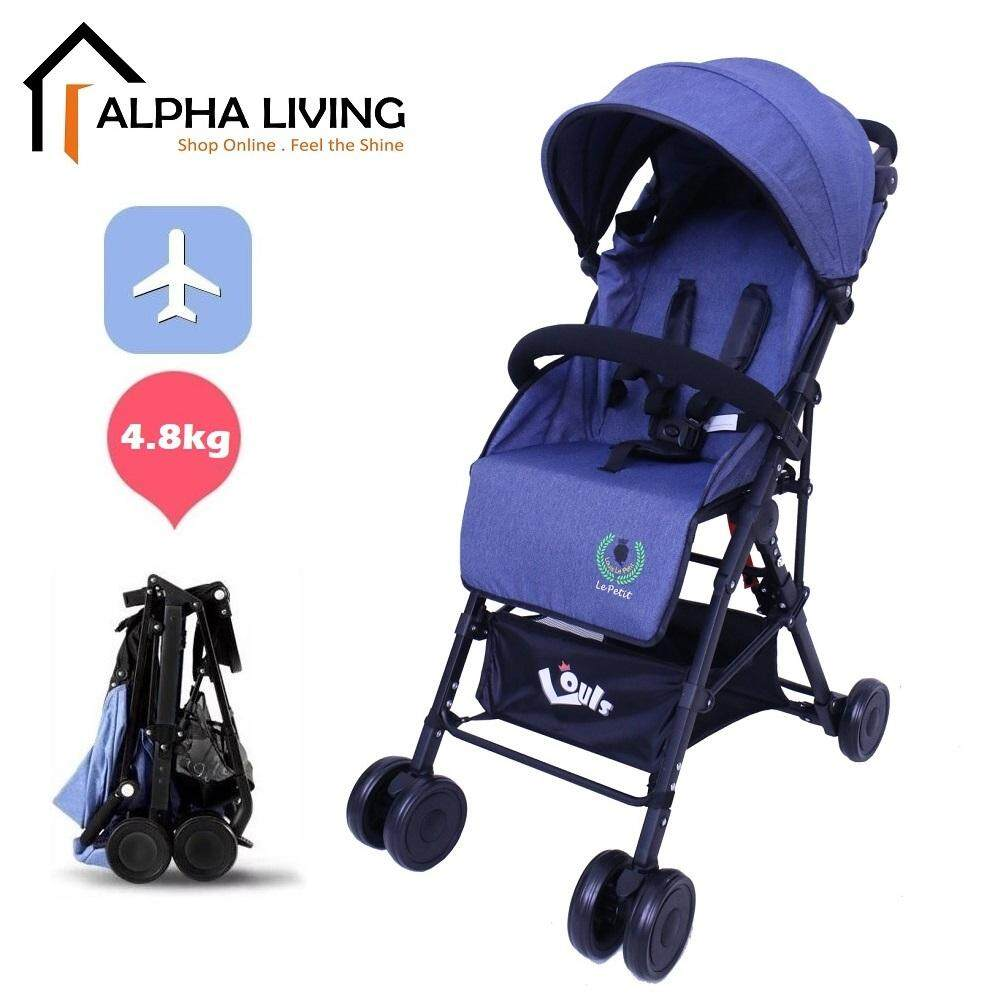 Louis Le Petit Lightweight Stroller Compact One-Hand Fold Baby Stroller