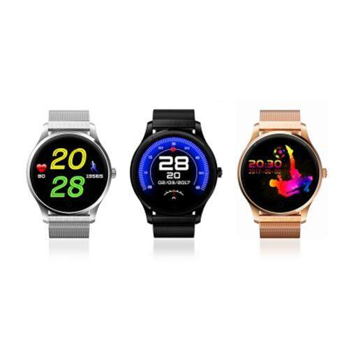 K88 SMARTWATCH BLUETOOTH 4.0 IP65 WATERPROOF SEDENTARY REMINDER SLEEP / HEART RATE MONITOR PEDOMETER REMOTE CAMERA ANTI-LOST FIND PHONE (GOLDEN)