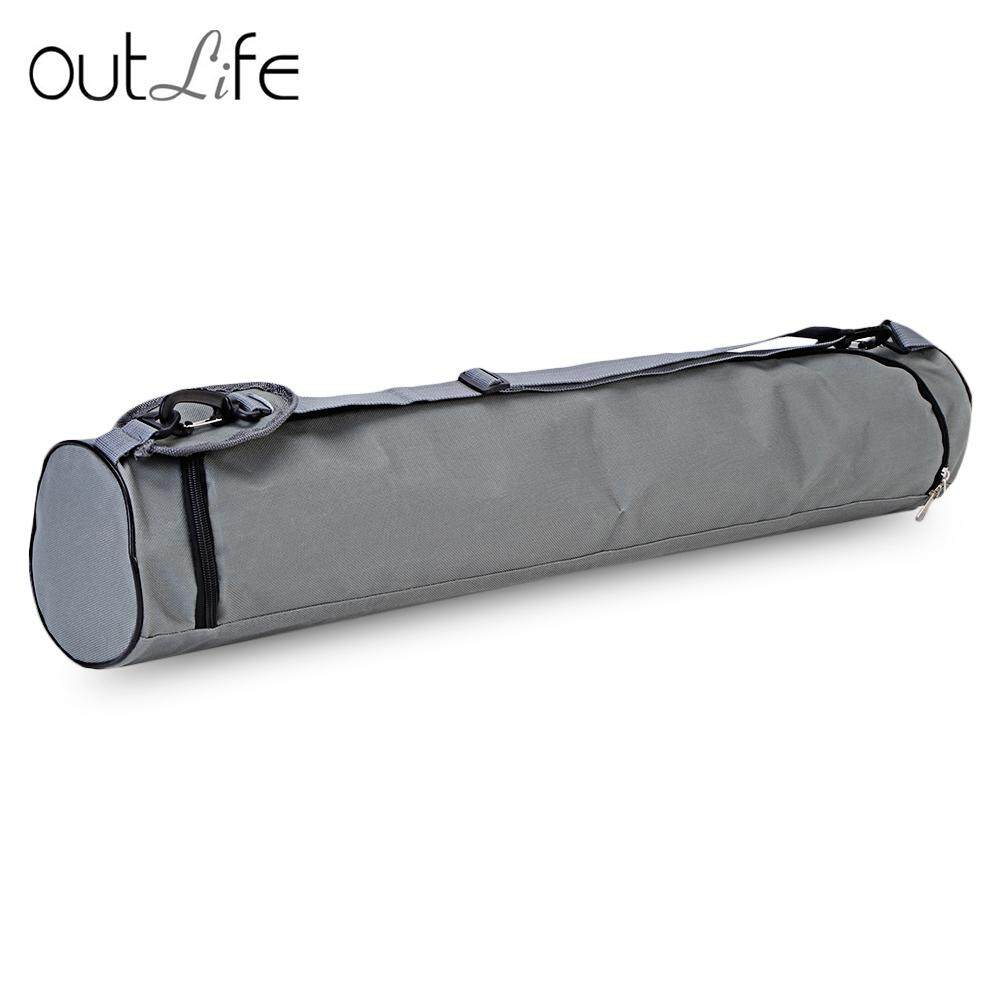 Outlife 73X13 Cm Kain Oxford Tali Latihan Kebugaran Kebugaran Matras Yoga Pilates Tas Carrier Ransel-