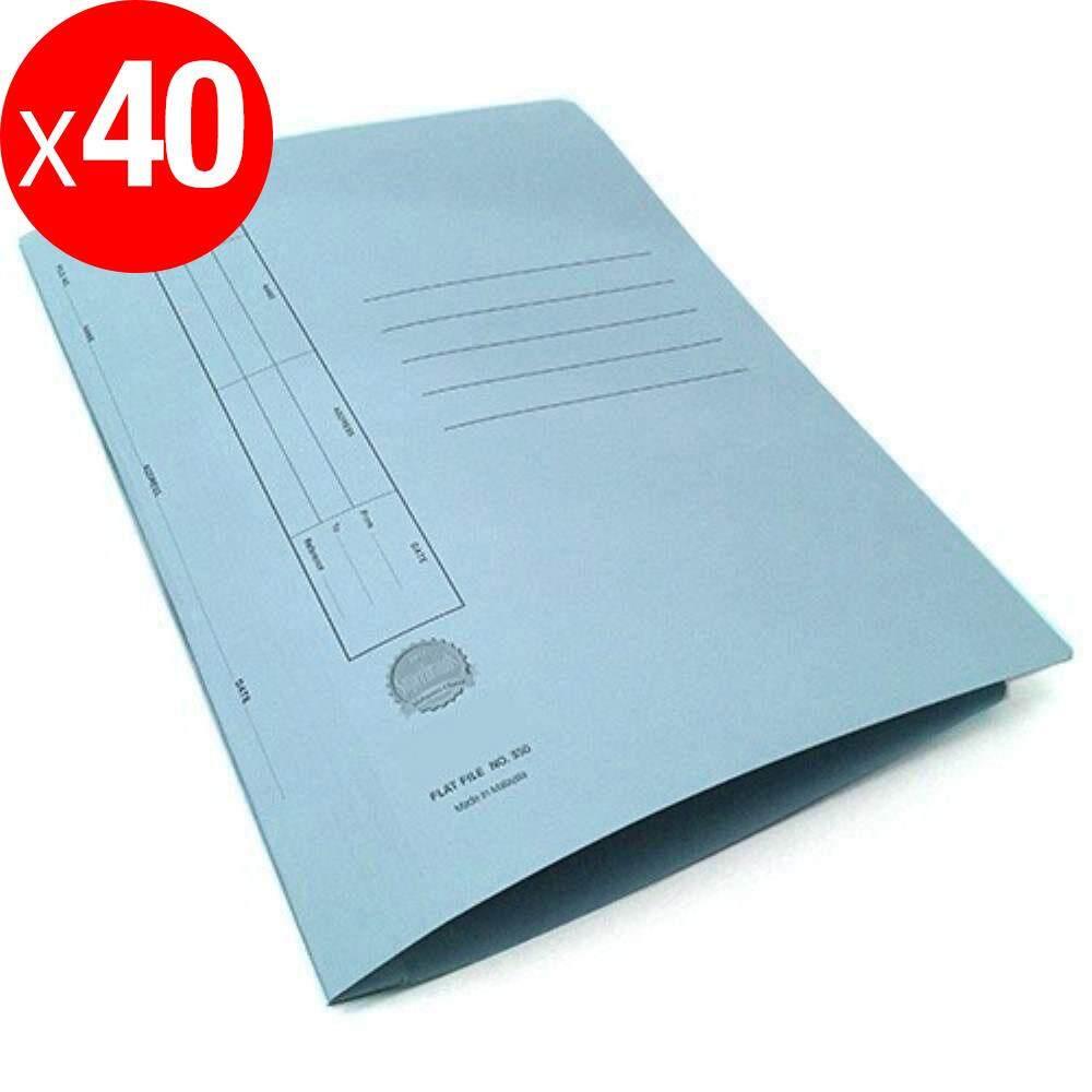 Manila Flat File U-Pin Spring Hook - No.350 Blue A1R1B106 X 40 pcs